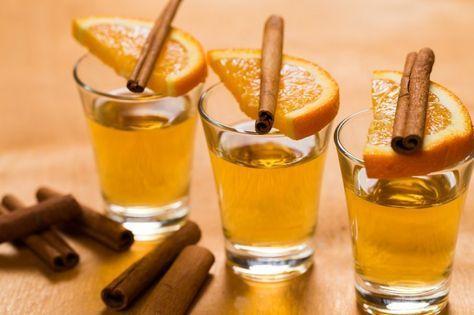Julsnaps med kanel och apelsin