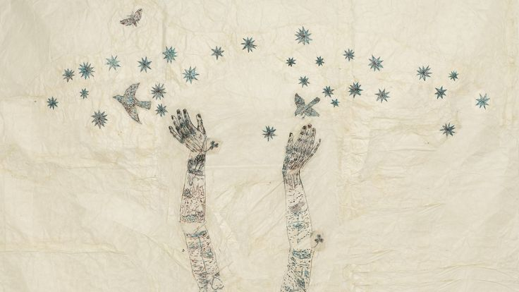 ... Kiki Smith 39 s Christmas card starry starry night Art and design ...
