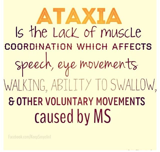 Multiple sclerosis ataxia March is #MSAwarenessmonth #teachmems www.facebook.com/... #WeAreStrongerThanMS