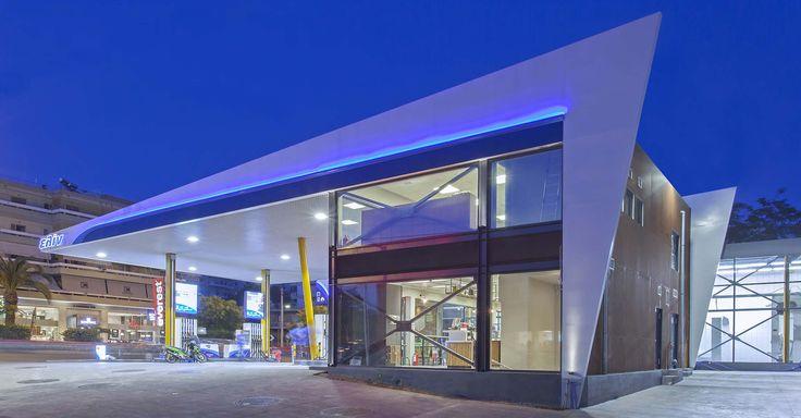 GAS STATION, MAROUSI, ATHENS PALY architects Lykoudis Papaspiliopoulou