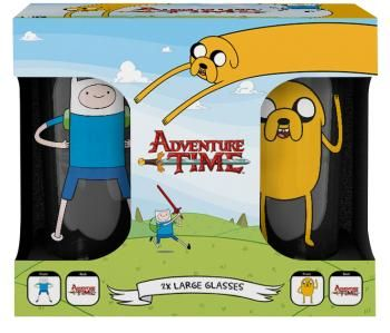 Finn & Jake - Pintglas van Adventure Time