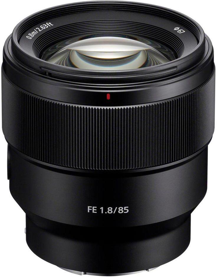 Sony - FE 85mm f/1.8 Telephoto Lens for Sony E-mount