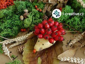 podzimní tvoření s dětmi - ježek z brambory