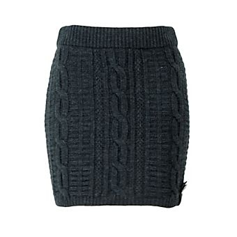 fisherman knit sweater skirt                                                                                                                                                                                 More