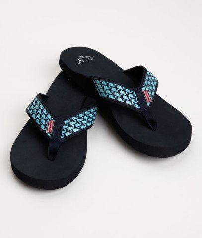 Men's Flip Flops and Sandals: Whale Flip Flops for Men - Vineyard Vines