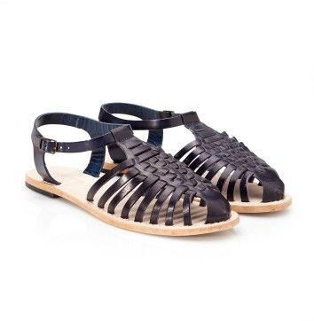 Shoe Open Venezia Black Iris