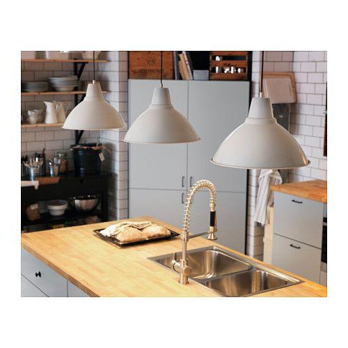 FOTO Lampada a sospensione - bianco sporco - IKEA