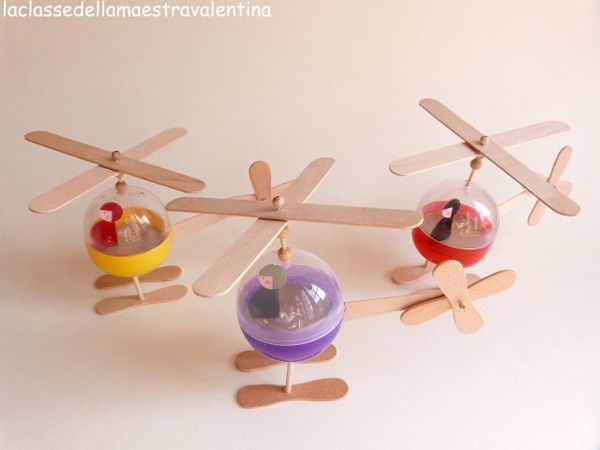 17 mejores ideas sobre artesan a de helic ptero en - Con idea de manualidades ...