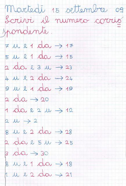 Didattica Scuola Primaria: matematica_classe_seconda
