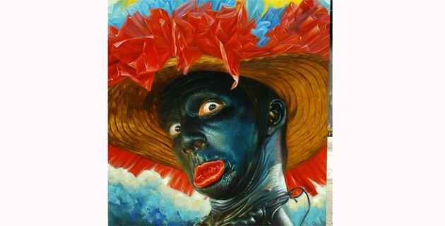 """2016 COLOMBIA - EL CARNAVAL DE BARRANQUILLA """"Desde hoy el Carnaval estará en La Aduana"""". En la foto: Obra de Vinel González, de 'Carnaval, nuevos nombres'. (11 Feb 2016)"""