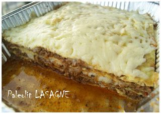 PaleoKonyha a Vizilóhoz ^^: Paleolit lasagne