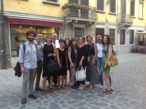 Lo staff Venpa 3 e, primo a sinistra, Gian Luca Ranno di Gnammo