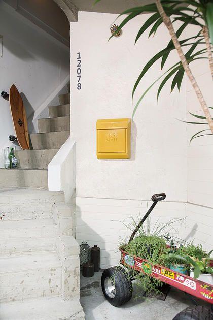【グリーン】アメリカンレトロなU.S.メールボックス:ポップ,グリーン系,Home's Style(ホームズスタイル)のその他玄関・屋外家具の画像