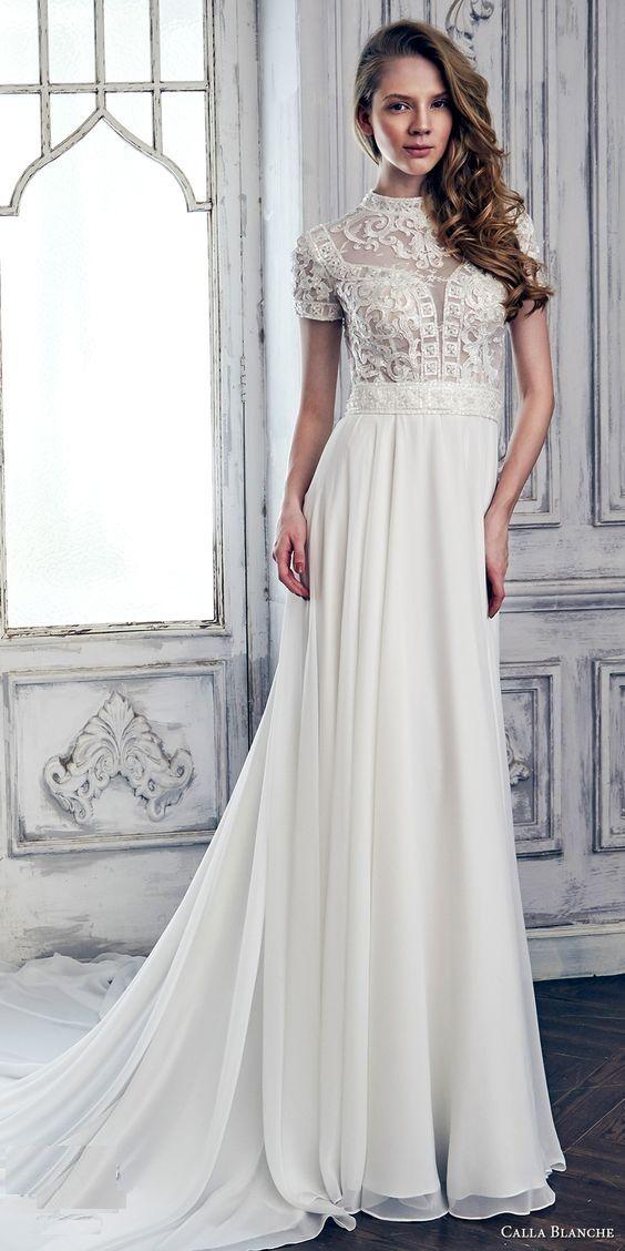 Calla Blanche Frühling 2017 einzigartige Stil Brautkleider | EXOTIC ...