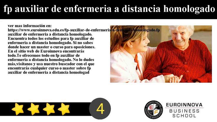 fp auxiliar de enfermeria a distancia homologado - ver mas información en: https://www.euroinnova.edu.es/fp-auxiliar-de-enfermeria-a-distancia-homologado.    fp auxiliar de enfermeria a distancia homologado. Encuentra todos los estudios para fp auxiliar de enfermeria a distancia homologado. Si no sabes donde hacer un master o curso para oposiciones. En el sitio web de Euroinnova encontrarás todo.    Te ofrecemos todo en fp auxiliar de enfermeria a distancia homologado. No lo dudes…