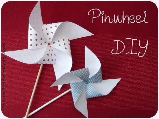 Make your own Pinwheels @ thatcutelittlecake.blogspot.co.uk
