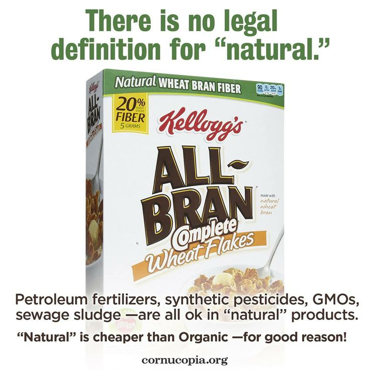 10 Best Images About Natural Vs Organic Cereal On