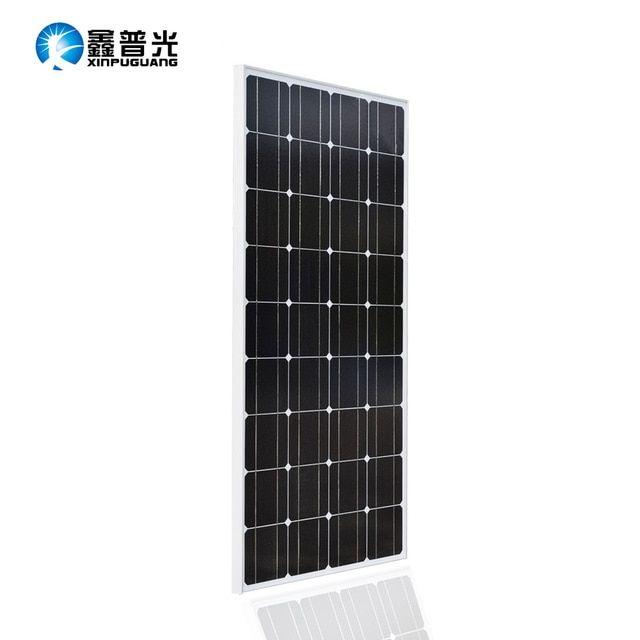 Glass Solar Panel 18v 100w Monocrystalline Top Quality Photovoltaic 12v Battery House Solar Cell Prices Solp Solar Panels Solar Panel Project Best Solar Panels