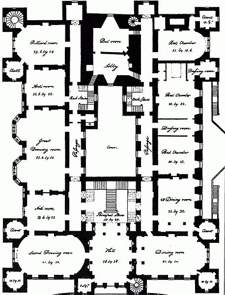 Castles on loudoun castle floor plan