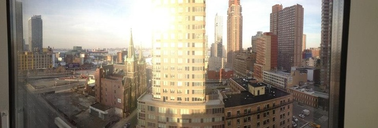 New York (from the Yotel)