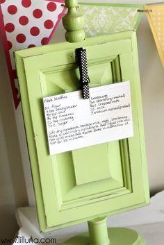 Make it: A super cute and easy recipe holder mom will cherish via Lil Luna.