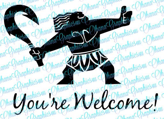 Hey, I found this really awesome Etsy listing at https://www.etsy.com/listing/500537034/maui-demigod-youre-welcome-svg