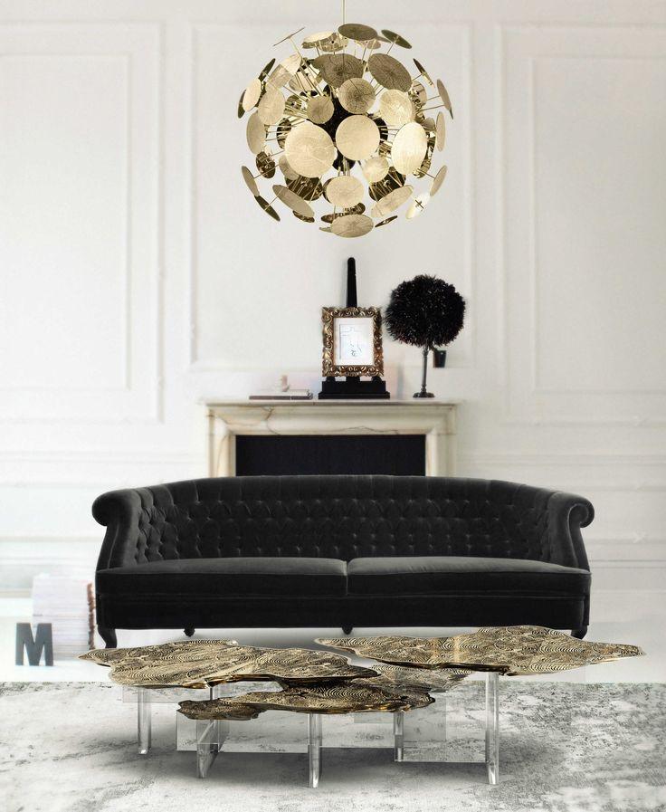 MONET CENTER TABLE By Boca do Lobo | www.bocadolobo.com  #luxuryfurniture #interiordesign #inspirations #homedecorideas #exclusivedesign #contemporarydesign #contemporarylivingroom #centertable #monet