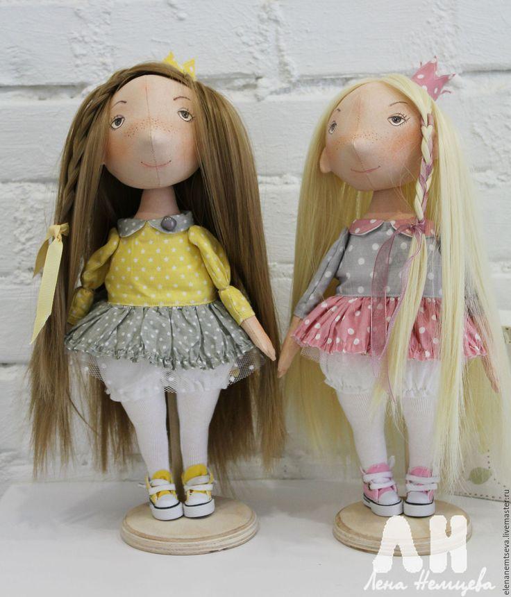 Купить Королевишны - кукла ручной работы, кукла, кукла в подарок, кукла интерьерная, кукла текстильная