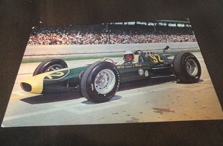 500 Mile Race Indianapolis Jim Clark Lotus-Ford  1963 Indianapolis 500