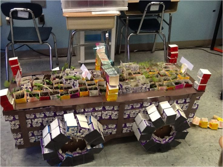 "The 2014 #Carton2Garden High School Winner used 650 #recycled cartons to create the ""Wheelbarrow Wow."" The working wheelbarrow proved an excellent lesson in re-using available resources to create something new! www.carton2garden.com"