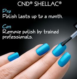 Pros and cons of Shellac nails