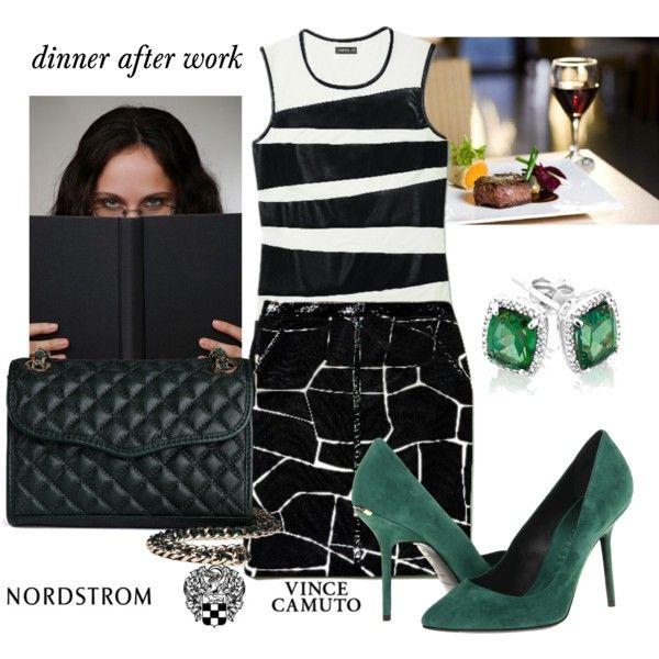 """dinner after work"" by esrakazimoglu on Polyvore"