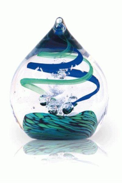 Urn van glas.
