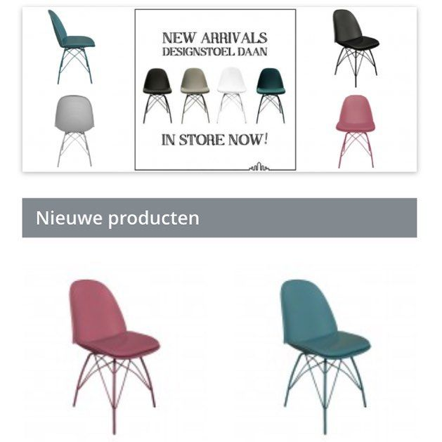Deze eetkamerstoel Daan van het merk @kickcollection.nl is verkrijgbaar in de kleuren zwar, wit, grijs groen en roze! De moderne stoel Daan heeft een stevig metaal frame en een comfortabel PU ledere zitting. Haal hem NU in onze webshop! #magazijnshopper #kickcollection #interieur #interior #interiordesign #interieurdesign #homedecoration #homeinspiration #homedecor