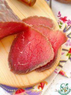 Говядина, маринованная в водке - кулинарный рецепт
