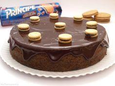 Bizcocho de galletas Príncipe, en el microondas - MisThermorecetas.com
