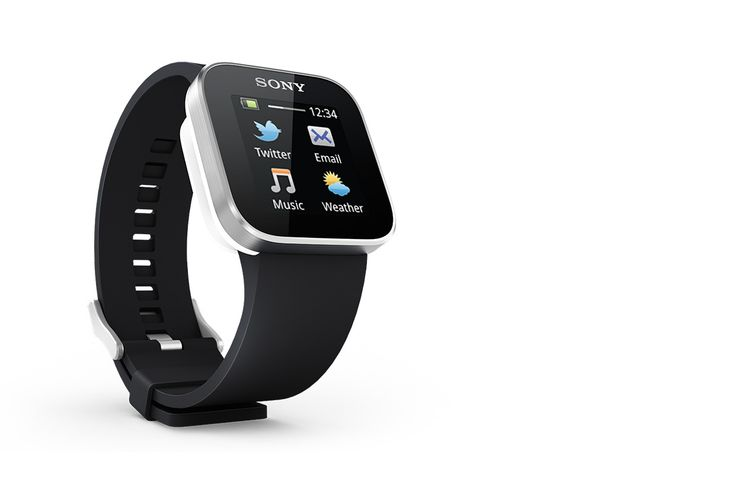 This Android™ compatible watch keeps you discreetly updated & your hands free...♡...Great Gift !