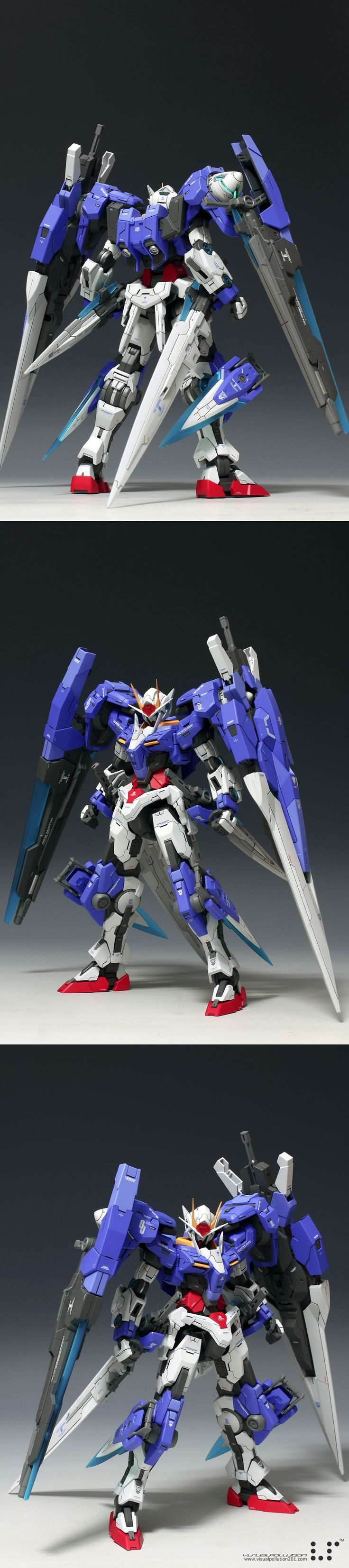 MG 1/100 Gundam Seven Sword/G: Latest Work by visualpollution. Full Photoreview [WIP too] Wallpaper Size Images | GUNJAP