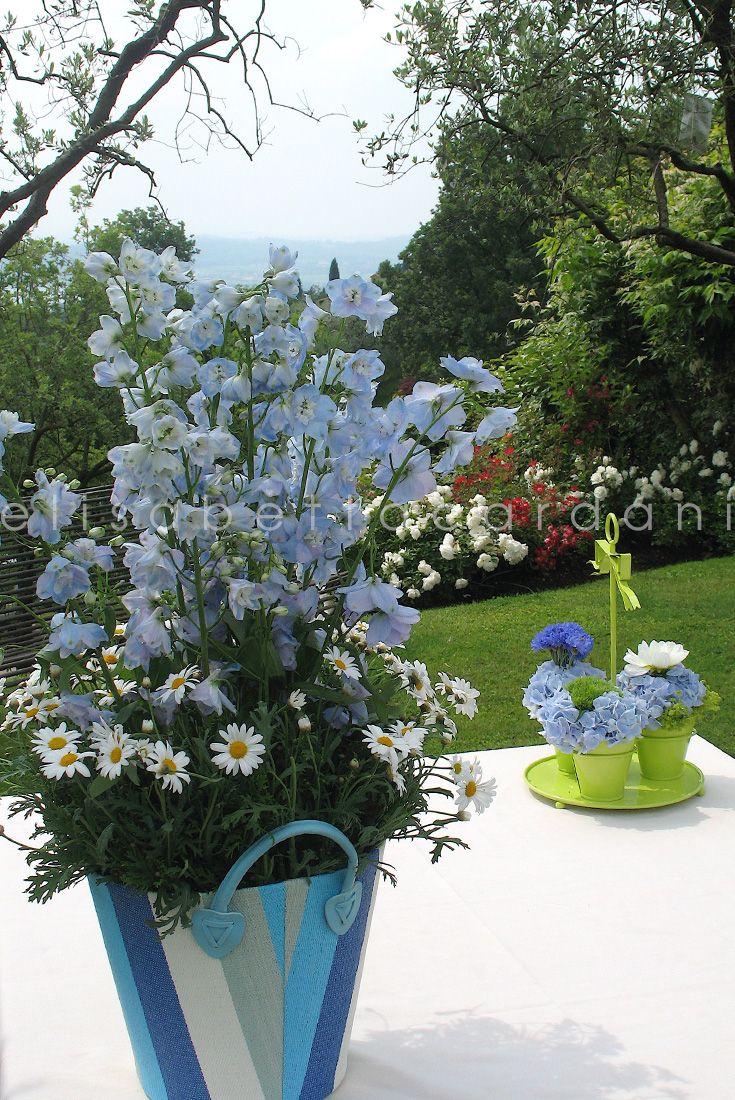 #elisabettacardani #italianstyle #battesimo #giardino #blu