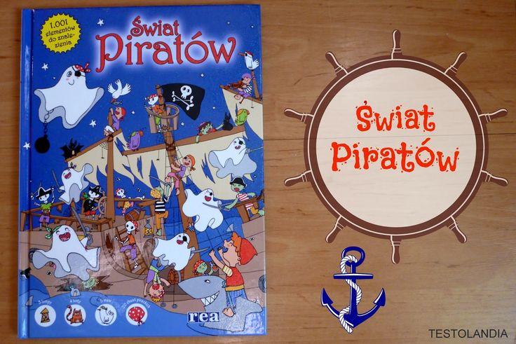 Zabawa w świecie piratów z wydawnictwem REA.