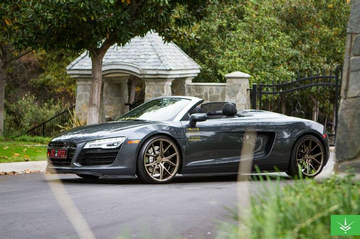 "Verde Axis V99 Bronze 20"" Audi R8 Gray 