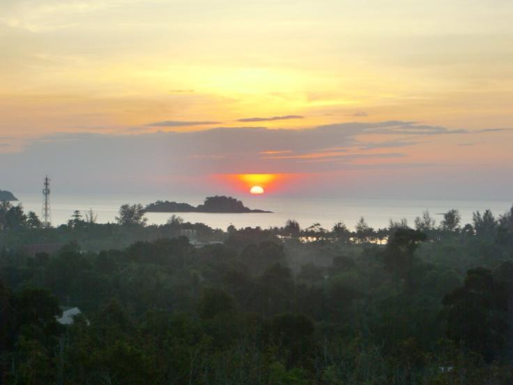 sunset @Ian #nature #sunset #thailand