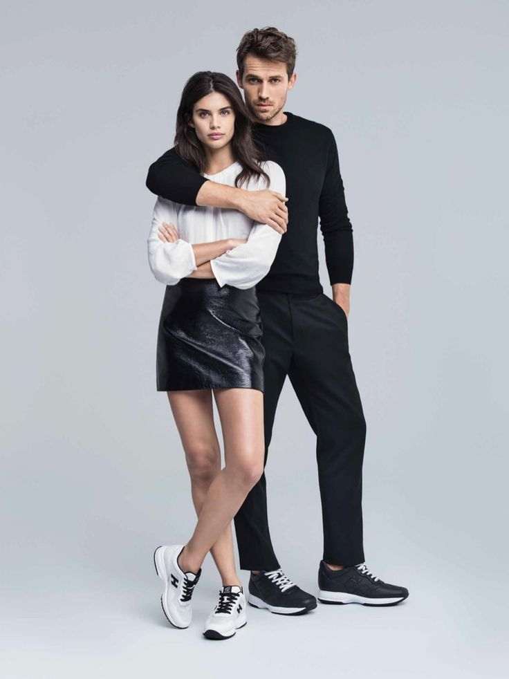 Sara Sampaio and Andrew Cooper star in Hogan's spring-summer 2017 campaign