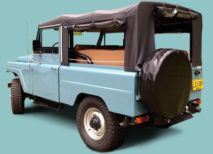 "'Indigo' is our ""Hemmings Pick"" 1979 Nissan Patrol LG-60 from Volcan 4x4."