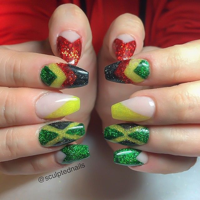 Hairdresser In Jamaica: 689 Best Images About Mini-Canvasses (AKA Nails) On