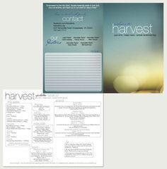 10 best modern church bulletins newsletters images on for Church bulletin templates for word