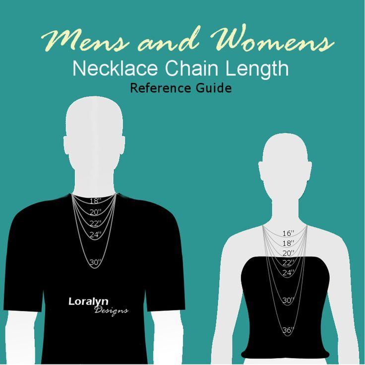 Men Necklace Chart | 1000+ ideas about Necklace Length Chart on Pinterest | Necklace ...