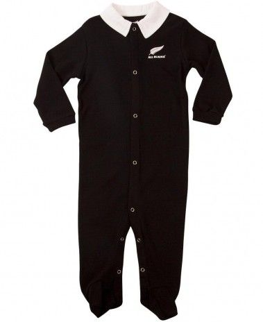 New Zealand All Blacks Baby Sleepsuit. £12.99. Official Licensed Product.