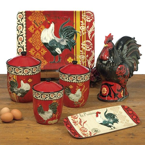 kitchen decor collections 17 best images about rooster canister set s on pinterest warm french country kitchens and old 194