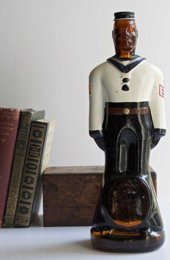 Vintage Doorly's Barbados Rum Uniformed Sailor by AtomicHawks